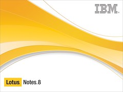 Lotus Notes 8 splash screen
