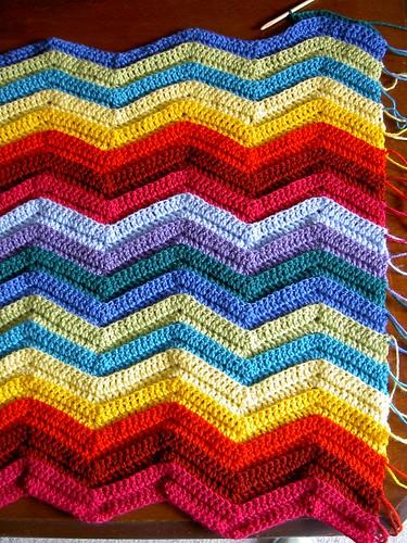 Ripple rug - day 4