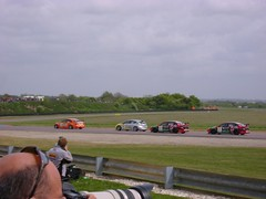 Turkington leads (Patrick Wotton) Tags: motorracing motorsport btcc autosport touringcar thruxton