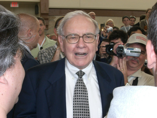 Warren Buffett at Borsheims