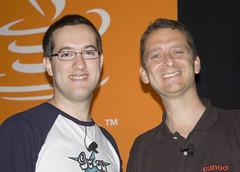 Guillaume Laforge et Dierk König du projet Groovy et auteurs de Groovy in Action