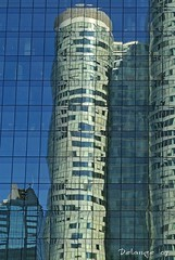 Reflection (henx fotojam) Tags: blue reflection building tower glass mirror