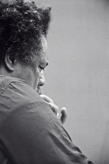 Mingus' face (Tom Marcello) Tags: photography bass jazz jazzmusic jazzmusicians charlesmingus jazzplayers jazzphotos jazzphotography jazzphotographs tommarcello