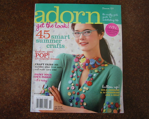 Adorn summer 07 is out!