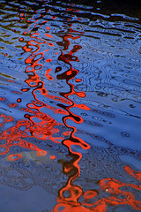 PICT5805 (graemeriddle) Tags: blue red reflections victoria alexandragardens ararat artlibre anawesomeshot diamondclassphotographer