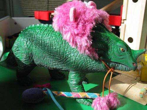 dinosaur makeover