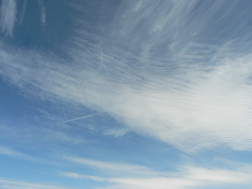 Clouds above Skomer Island
