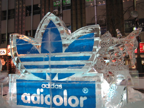 adidas in ice