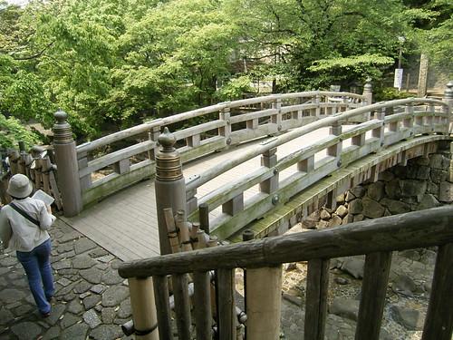 音無川親水公園-04.木の橋