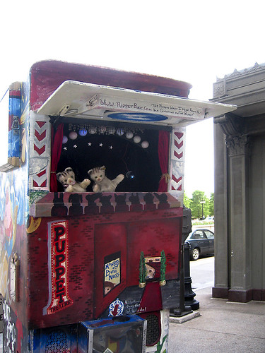 image of puppet booth