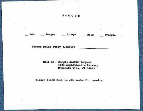 Google in 1960