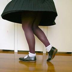 Plum tights and Mary Janes (Christie Jane) Tags: stockings socks tv shoes purple legs cd tights skirt crossdressing hose tgirl transgender flats sissy tranny transvestite hosiery maryjanes pantyhose crossdresser crossdress gurl tg maryjaneshoes trannie xdressing xdress strapshoes tgurl opaquetights xdressresser