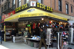 NYC - East Village: Gem Spa by wallyg, on Flickr