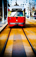 Stella (Thomas Hawk) Tags: sanfrancisco california street city usa topf25 train lights unitedstates fav50 market 10 trolley unitedstatesofamerica fav20 muni f streetcar fav30 ftrain fline fmarket fav10 fav25 1059 fav40 superfave