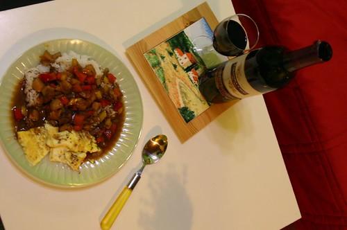 為了紅酒做的牛肉燉飯