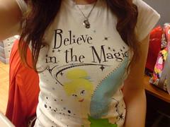 Tshirt Everyday.1nEW TEE,Tinker Bell (theCarol) Tags: shozu tinkerbell tshirt peterpan tee k800i