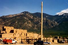 Taos Pueblo, New Mexico, 1996 - by PhillipC