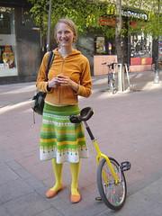yksipyöräinen polkupyörä (Anna Amnell) Tags: unicycle polkupyörä yksipyöräinen