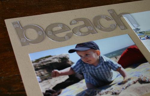 beach - title