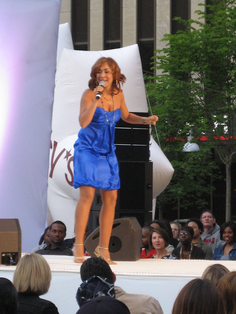 Diana DeGarmo - Macy's Fashion Show on Fountain Square