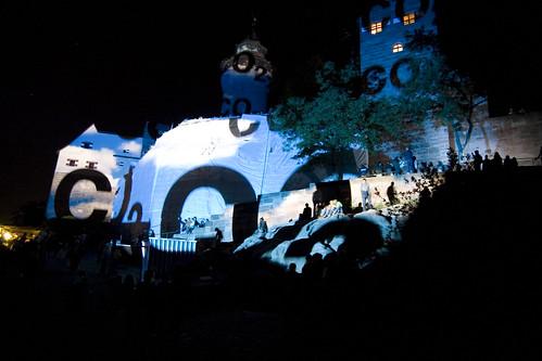 Blaue Nacht Nürnberg- Burg