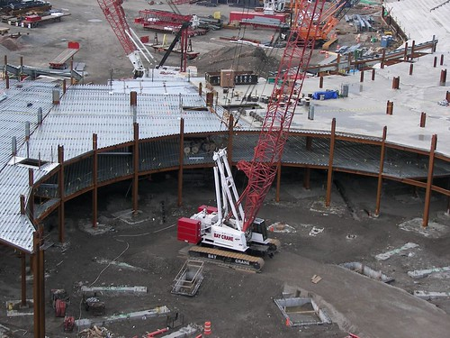 The beginning of the Jackie Robinson Rotunda - May 2007