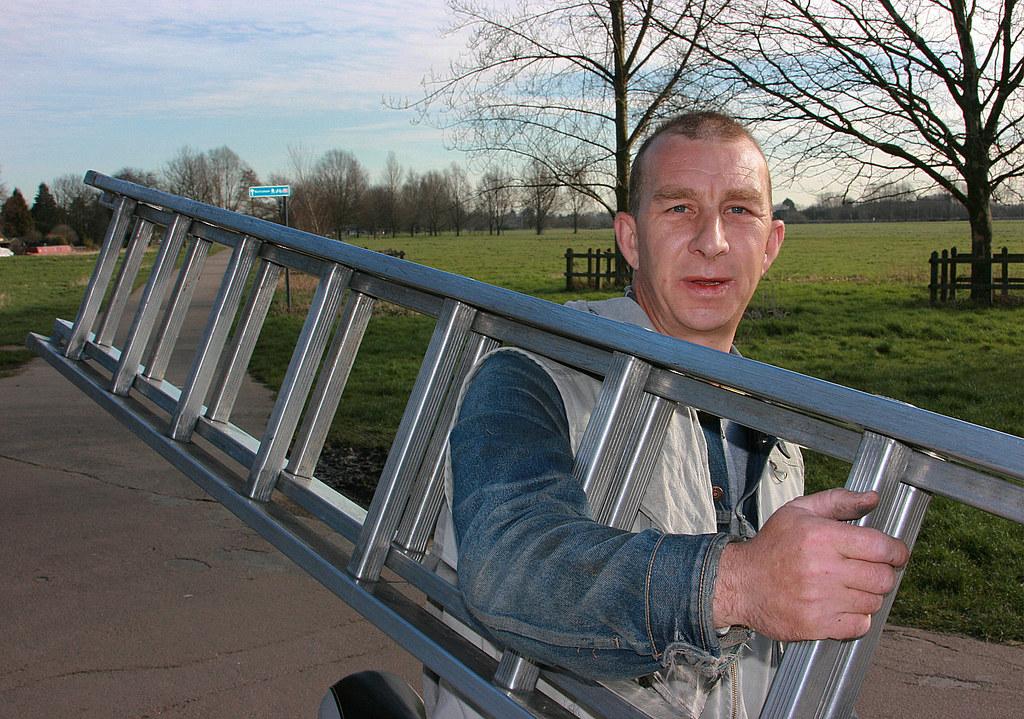 Cambridge people: The Window Cleaner