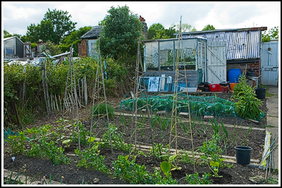 2007-05-20  Allotment - Greenhouse base finished  047 copy