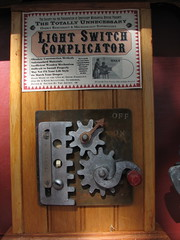 Light Switch Complicator (L. Marie) Tags: make sunday makerfaire erniefosselius makerfaire2007 makerfairebayarea2007 lightswitchcomplicator