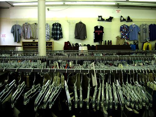thrifting — May 22