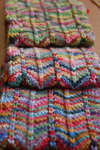 Chevron Scarf Pattern Knit : Javajem s: Chevron Scarf G-Ma Ellens Hands   Adventures in Crochet and...