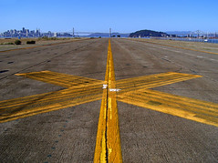 photo - Runway to San Francisco (Jassy-50) Tags: sf sanfrancisco california lines flying photo airport x alameda runway nas navalairstation alamedanas flyertalk ourdailytopic