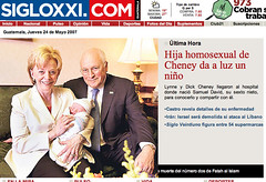 Guatemala: big news (xeni) Tags: lesbian iraq cheney virginbirth