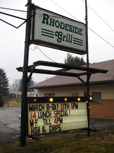 Rhodeside Grill Lincoln Highway Near Chester WV