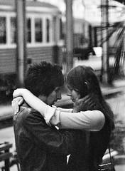 Nice, estao ferroviria, maio 1972 (jcfilizola) Tags: amores