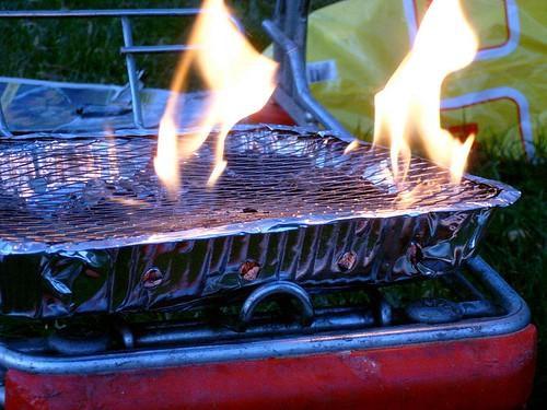 barbecue notte carrello jackass
