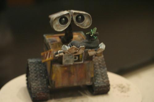 WallE el robot es tierno