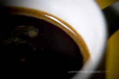 black coffee. (*Sabine*) Tags: black coffee utata:description=hide utata:project=justblack year:uploaded=2007 sabinesteinmüller