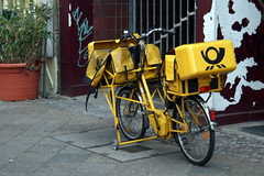 mail bike by Genista, on Flickr