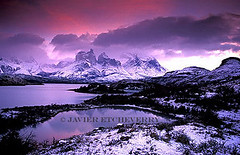 First Snow (Javier Etcheverry) Tags: chile patagonia mountain snow sunrise dawn nationalpark dusk torresdelpaine cuernos paine smrgsbord parquenacional naturesfinest blueribbonwinner 100faves specland cuernosdelpaine abigfave superbmasterpiece diamondclassphotographer elegantgroup thatsclassy world100f