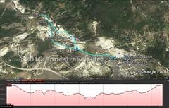 Upper Geyser Basin Visual Trail Map (Annes Travels) Tags: yellowstone wyoming uppergeyserbasin geysers geothermal