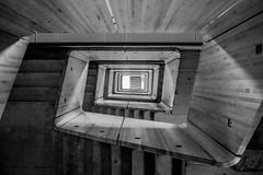 UP / Uppt 3 (mcqal) Tags: skellefte kraft stairs architecture blackandwhite up nikon d800 nikon247028afs