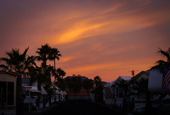 Pink Sunrise over Rock Shadows.jpg (melissaenderle) Tags: desert sky arizona