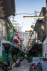 2016_04-Bangkok-M00007 (trailbeyond) Tags: architecture asia bangkok building house housing location moped outdoors residentialbuilding street thailand transport tuktuk buildings