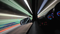 sorry! just another deadly boring driving shot... :-) (Toni_V) Tags: longexposure motion blur schweiz switzerland movement europe driving suisse zurich tunnel zürich 2009 d300 sigma1020mm 091101 schöneich toniv schöneichtunnel abigfave dsc5012 theperfectphotographer