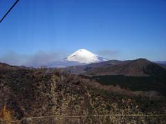 Mount Fuji at a Distance (jpellgen) Tags: mountain japan japanese volcano asia fuji mt sony cybershot mount  fujisan nippon kanagawa  nihon kanto gora  owakudani  dscp92  kantou