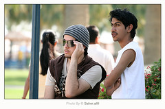 ef9e9,, and Jose //.. (Nasser Bouhadoud) Tags: trip friends canon 350d jose arab talking prada nasser qatar faisal  saher    allil ef9e9