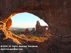 North Window Arch & Turret Arch, Arches National Park, Utah (dsphotoscapes) Tags: landscapes utah arch canyonlands archesnationalpark nationalparks utahlandscapes utahnationalparks gicle northwindowarch turrettarch