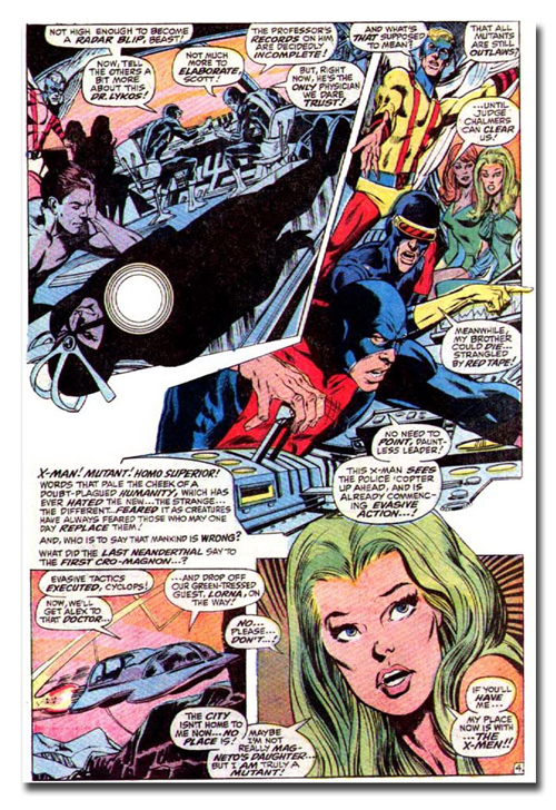 Uncanny X-Men #60 - Story by Roy Thomas