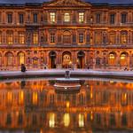 Cour Carree, Louvre | Paris, France | HDR | davidgiralphoto.com